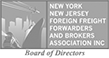 Transparent version New York-New Jersey Foreign Freight Forwarder and Brokers Association logo.