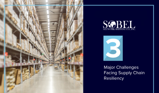 Blog image for 3 Major Challenges Facing Supply Chain Resiliency.