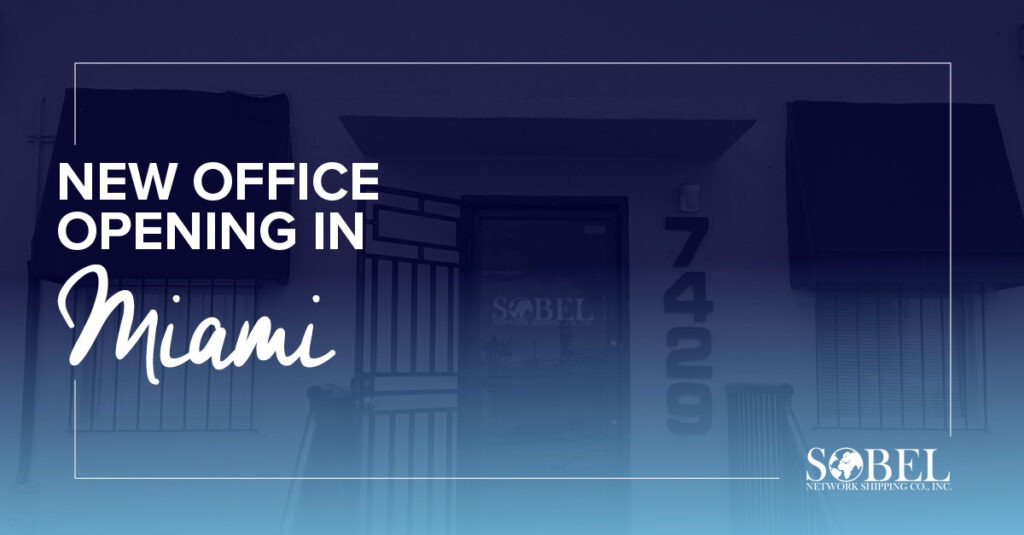 Header image for press release about the new office opening in Miami.