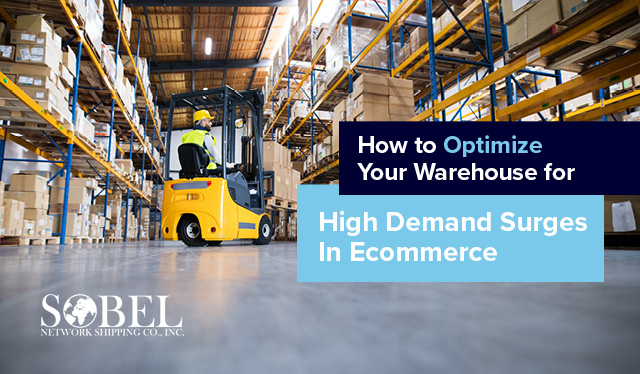 Blog image of warehouse for How to Optimize Your Warehouse for High Demand Surges in Ecommerce