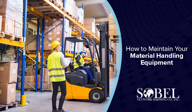 Blog image for How to Maintain Your Material Handling Equipment.